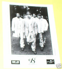 98 Degrees Group 8 X 10 Drew & Nick Lachey B&W Publicity Photo Nice! See!