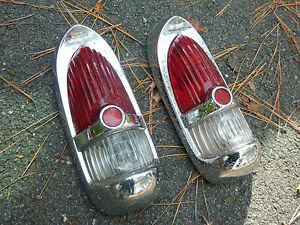 (2) DESOTO DESAO TAIL LIGHTS 1953 with VERY GOOD SHINE