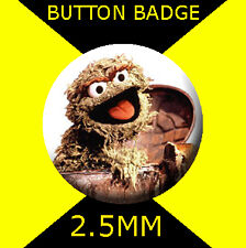 MUPPETS OSCAR GROUCH - CULT  -  Button Badge