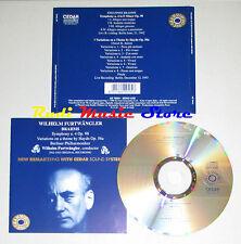 CD WILHELM FURTWANGLER symphony 4 op 98 BRAHMS variations haydn 56  lp mc dvd