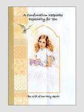 Confirmation Keepsake Book for Girls