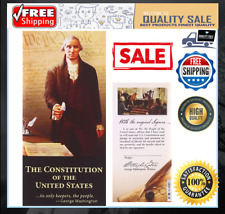 The Constitution Of The United States Pocket Sized Booklet Paperback 52 Page NEW