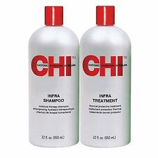CHI INFRA SHAMPOO & TREATMENT LITER DUO SET 32oz free shipping