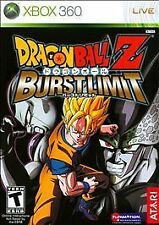 Dragon Ball Z: Burst Limit (Microsoft Xbox 360, 2008)  Complete  Fast Shipping !