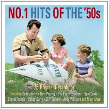 NO.1 HITS OF THE 50'S (Buddy Holly,Elvis Presley) 3 CD BOX SET NEUF