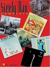 Steely Dan Complete by Hal Leonard Piano, Guitar, Vocal  Paperback