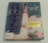 "Shuttle - PC Big Box - 5.25"" Floppy disks, Vintage Collectible PC game....."