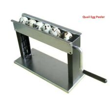 Manual Boiled Quail Egg Sheller Machine Household Quail Bird Egg Peeling Machine