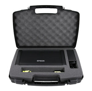 Portable Printer Case for Epson Workforce WF-100 Printer in Custom Foam
