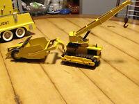 hubley dozer crane earth mover scraper
