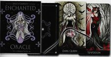 Enchanted Oracle Tarot Kit Boxed Fairy Deck Cards & Book Set Jessica Galbreth