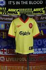 4.5/5 Liverpool boys 11-12 years 152cm 1997 away football shirt jersey trikot