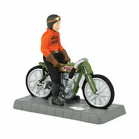 Department 56 Otto Walker Harley Davidson Champion Christmas in the City New