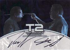 Terminator 2 T2 Dan Stanton & Don Stanton Dual Auto Card