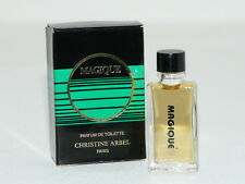 Rare Miniature perfume Parfum MAGIQUE de Christine ARBEL edt 5,2 ml Paris