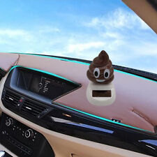 EB_ Funny Solar Powered Swing Dancing Poo Toy Home Car Ornament Decor Gifts Note
