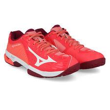 Mizuno Mujer Wave Exceed 2 Todo Corte Tenis Zapatos Rosa Rojo Deporte Entrenar