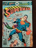 DC Comics 1976 Bronze Age Classic Superman #302 Arch Foe Lex Luthor!
