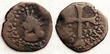 ESPAÑA-Felipe IV. Dobler. Sin fecha. Mallorca. BC+/F+ Cobre 1,2 g. CAL-1464.
