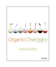 Organic Chemistry by David R. Klein (Hardcover, 2nd Edition, 2013) - Like New!