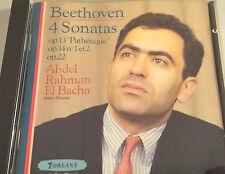 Beethoven 4 Sonaten op13 Pathetique, op14 No 1+2, op 22, Abdel Rahman El Bacha