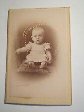 Leutkirch - Walther Stöckle als Baby - kleines Kind - Portrait / CDV