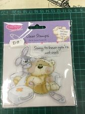 Fizzy Moon Clear Stamps Get Well Wishes