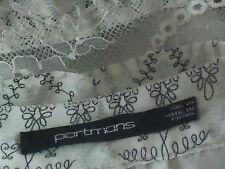 PORTMANS FloatyCreamTieredFrillLaceMini Size10