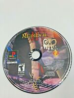 Sony PlayStation 1 PS1 PSOne Disc Only Tested Medievil II 2 Ships Fast