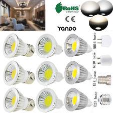 Dimmable LED Bulb MR16 GU10 E27 E14 6W 9W 12W Spotlight COB Lamp Ultra Bright