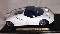 MAISTO Diecast Car Series FORD GT90 Special Edition 1:18 WHITE 31865