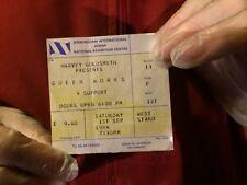 ORIGINAL QUEEN TICKET,THE WORKS TOUR,NEC BIRMINGHAM 1984.