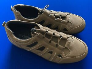 Cotton Traders - Mens Beige/Black Casual Shoes Size 10