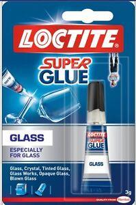 LOCTITE Super Glue GLASS Bond Adhesive Especially For Glass Tube 3g