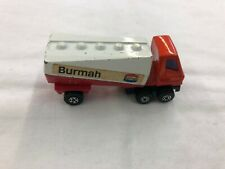 Matchbox Superfast Freeway Gas Tanker No 63 Lesney 1973 Made in England Burmah