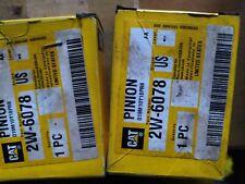 2W-6078  CATERPILLAR ORIGINAL PINION NEW 2W6078