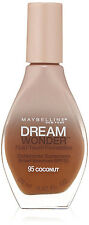 LOT of 10 - Maybelline Dream Wonder Foundation, Fluid Touch, #95 Coconut