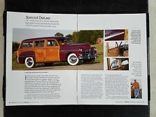 1949 Plymouth P-18 Woody Speciale Deluxe Station Wagon - 4 Pagina Articolo