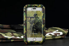 For  iPhone 7 Plus Samsung S8 Extreme Armor Water-Resistant Aluminum Cover Case