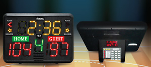 Sportable Scoreboards Multisport Indoor Portable Tabletop Scoreboard