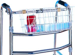 Walking Frame Basket - Carry Basket For Zimmer Frame - Walking Aid Accessories