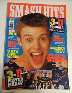 Oz Smash Hits Music Mag  May 1999 Britney, BSB Dawson's Creek + 3D Posters