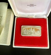 Franklin Mint Sterling Silver .925 2.2 oz each Silver Bank Union Bars CHOOSE