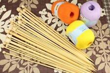 Alta Qualità Set 36pz Singolo Appuntito Bambù Da Magli Ferri 2mm - 10mm