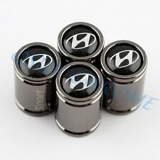 4PCS Car Parts Wheel Tyre Air Valve Cap Covers For Hyundai ix35 i20 ix55 iLoad