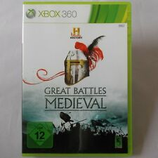 XBOX 360 - Microsoft ► The History Channel: Great Battles Medieval ◄ TOP
