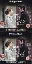 BBC Elizabeth Gaskell NORTH & SOUTH 2 Double DVD Set ( Daily Mail Promo DVD´s )