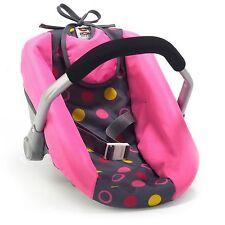 Bayer Chic 2000 Puppen-Autositz Funny Pink NEU