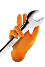 Connect 37300 Grippaz Medium Orange Nitrile Gloves Box -50 Pieces/25 Pairs