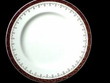 ALFRED MEAKIN Burgundy Red/Gold Detail c 1945 - 8 3/4 inch Plate x1 (5 avail